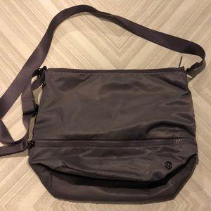 Lululemon Grey Crossbody Adjustable Strap Bag